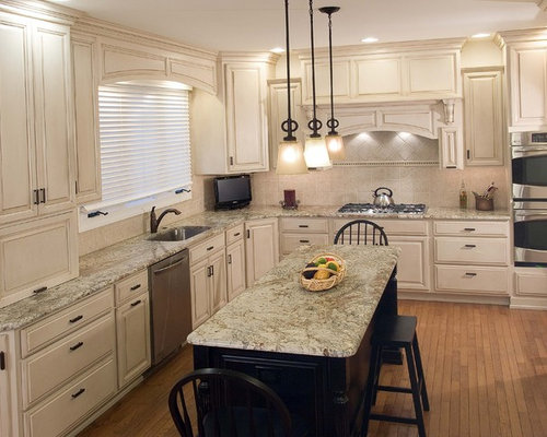 Ivory Glazed Cabinets Ideas Pictures Remodel And Decor