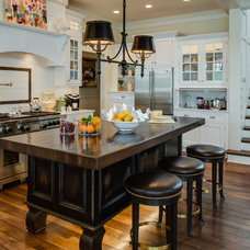 Traditional Kitchen by Edward Postiff Interiors