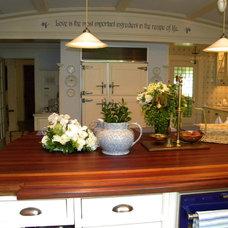 Traditional Kitchen by Eileen Kollias Design