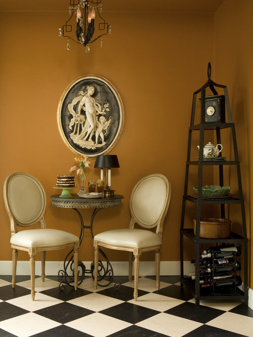 Pumpkin Wall Color Home Design Ideas Pictures Remodel