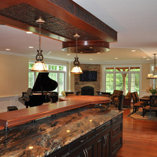Traditional Kitchen by KAS Interiors, LLC