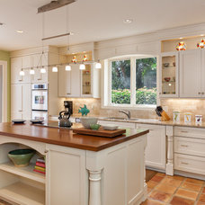 Traditional Kitchen by Palm City Millwork, Inc