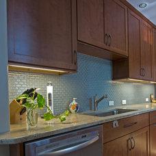 Traditional Kitchen by Braitman Design Studio
