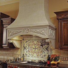 Traditional Kitchen by Francois & Co