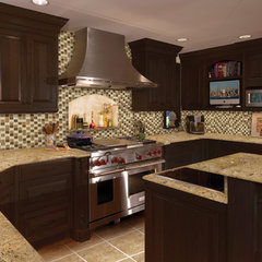 traditional kitchen by Fresh Surfaces