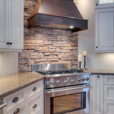 Traditional Kitchen by Fusion Stone