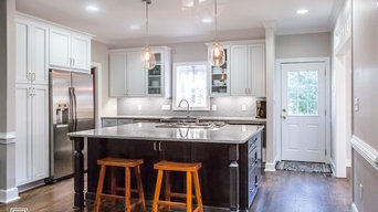 Traditional Kitchen Gets Light, Bright, and Airy Makeover