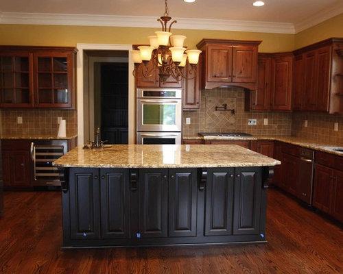 Black cherry kitchen design ideas renovations photos for Black cherry kitchen designs