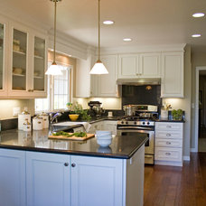 Traditional Kitchen by Gridley Company