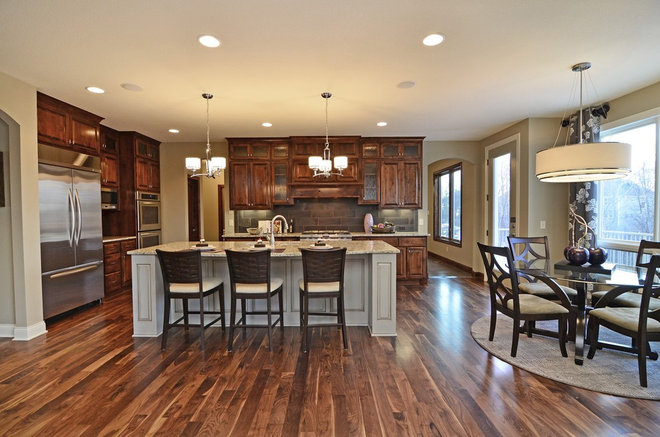 Traditional Kitchen by Hanson Builders, Inc.