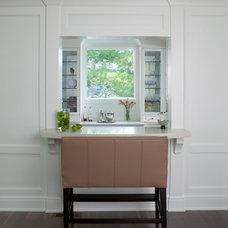 Traditional Kitchen by Morgan-Heller Associates