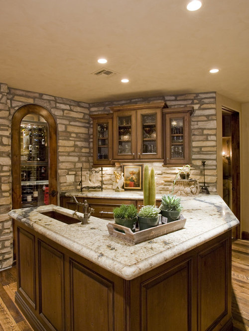 Best Faux Stone Wall Design Ideas Amp Remodel Pictures Houzz