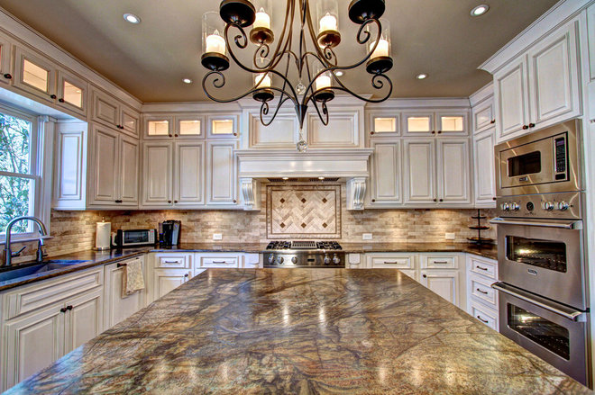 Traditional Kitchen by Housley Enterprises