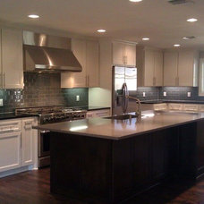 Traditional Kitchen by ICF Custom Homes