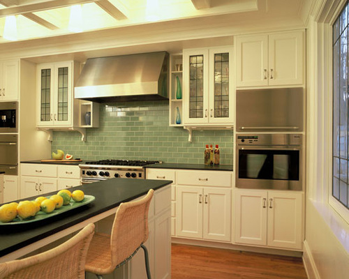 Unique Kitchen Tiles Green Reveal The Whole Enchilada Throughout