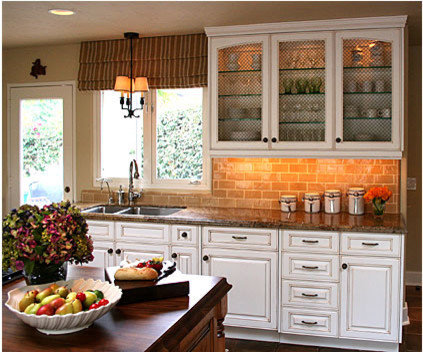 faux brick backsplash home design ideas pictures remodel and decor