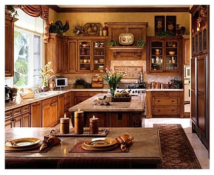 12 creative ideas for decorating above the cabinets for Above kitchen cabinets decorating ideas