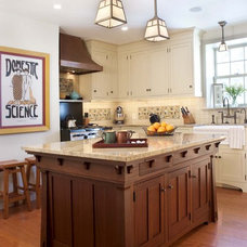 Craftsman Kitchen Traditional Kitchen