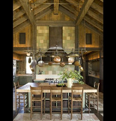traditional kitchen by Nicole Hollis