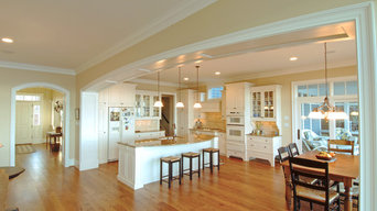 Traditional Kitchen in a Private Residence on the Chesapeake Bay