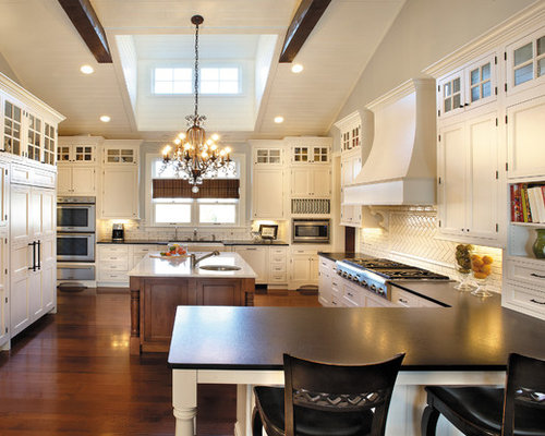 Glass Upper Cabinets Ideas, Pictures, Remodel and Decor