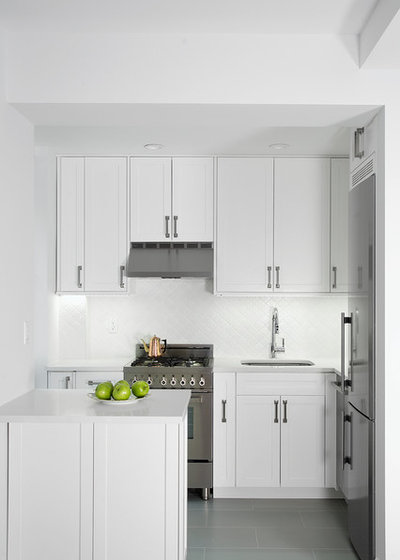 Transitional Kitchen by Spectra Design