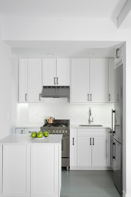 Transitional Kitchen by Spectra Design Build