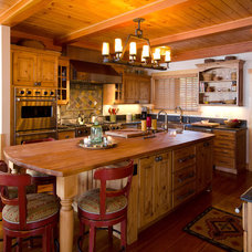 traditional kitchen by Interiors by Randi