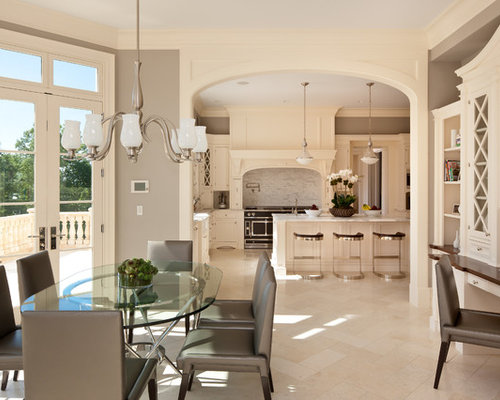 crema mascarello on white cabinets cream and grey kitchen ideas photos houzz