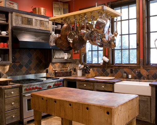 butcher block table home design ideas pictures remodel