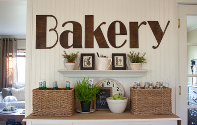 Typography Makes Itself at Home