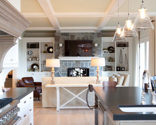 Shallow Coffered Ceilings : Houzz