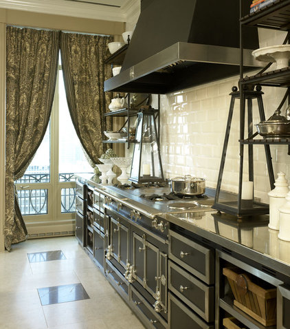 Traditional Kitchen by Jessica Lagrange Interiors
