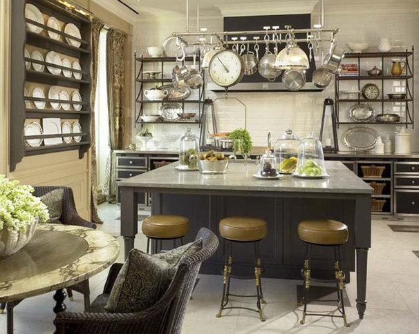 Traditional Kitchen by Jessica Lagrange Interiors
