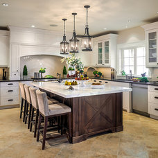 Traditional Kitchen by Joshua Lawrence Studios INC