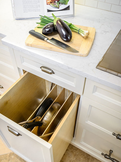 Houzz | Fry Pan Storage Design Ideas & Remodel Pictures
