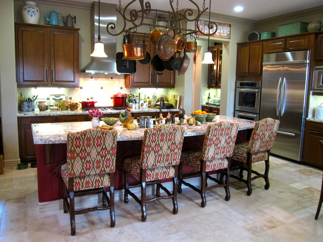 Traditional Kitchen by Kari McIntosh Design