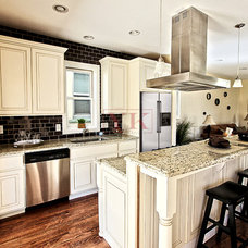 Traditional Kitchen by Kate Khrestsov with Urban West Construction