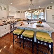 Traditional Kitchen by Kim E Courtney Interiors & Design Inc