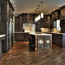 Traditional Kitchen by Kitchen Craft Edmonton