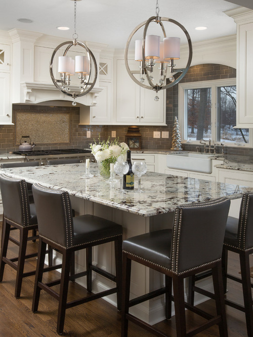 Kitchen Backsplash Granite Countertops | Houzz on Farmhouse Granite Countertops  id=58452