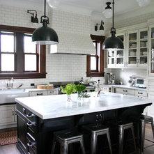 Bon Traditional Kitchen By KitchenLab | Rebekah Zaveloff Interiors