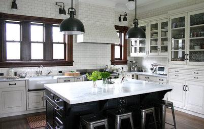 8 industriella inslag i klassiska kök