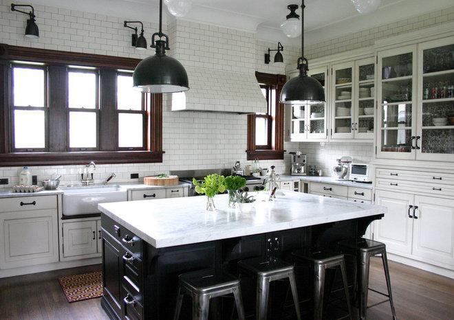 Traditional Kitchen by KitchenLab Design | Rebekah Zaveloff Interiors