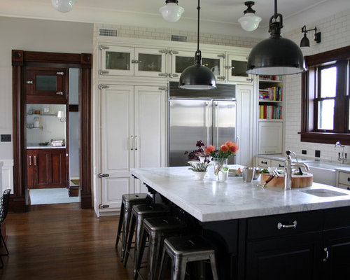 Black Hardware White Cabinets