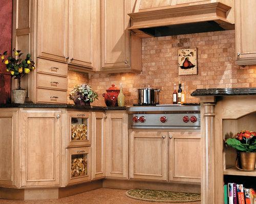Faux Brick Backsplash Home Design Ideas, Pictures, Remodel