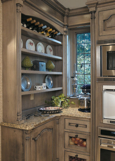 Stress less with distressed cabinets for Kitchen cabinets 4 less