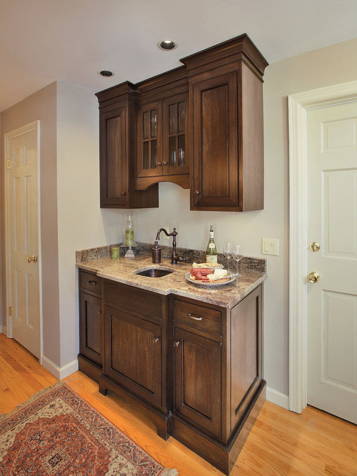 Wet bar sink home design ideas pictures remodel and decor - Wet bar cabinets ...