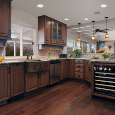 Traditional Kitchen by Lauren Jacobsen Interior Design