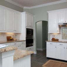 Traditional Kitchen by Lauren Leonard Interiors